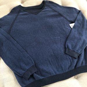 Tommy Bahama VNeck Pima Cotton Sweater FLAW XXL